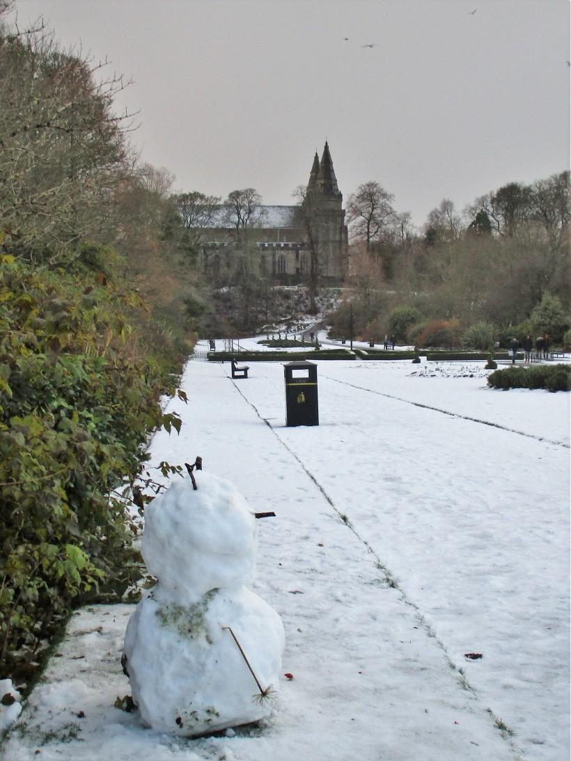 2017 snowman