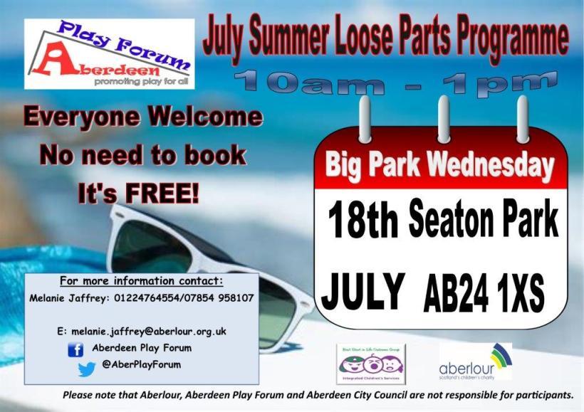 summer poster individual seaton