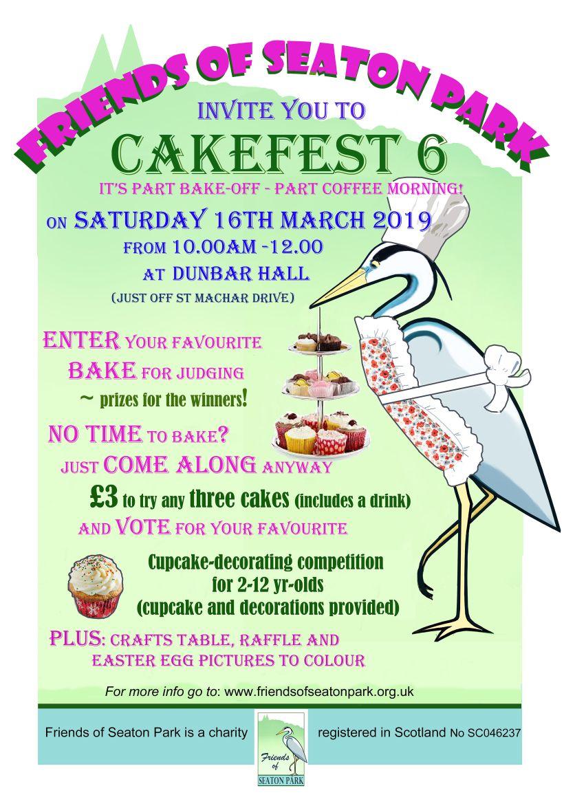 Cakefest 2019 poster